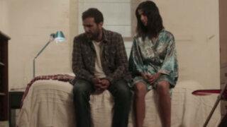 """""""Ella y Él"""", la película: Vanessa Saba y Frank Pérez-Garland en La Batería"""