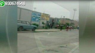 WhatsApp: escolares son captados escapando de su centro de estudios en el Rímac