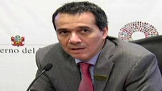 Ministro Segura insiste en que contratos de corredores viales son ilegales