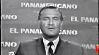Humberto Martínez Morosini: así presentaba las noticias en 1968