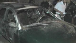 Banda de extorsionadores incendió colectivo en Trujillo
