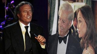 Julio Iglesias comentó sobre relación entre Vargas Llosa e Isabel Preysler