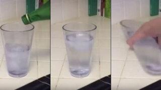 VIDEO: impresionante ilusión óptica desata todo tipo de teorías en Internet