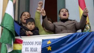 Bolivianos celebran decisión de la Corte de La Haya