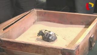 SJL: presuntos traficantes de terrenos dejan granada en puerta de vivienda