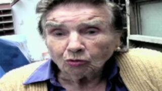Anciana de 93 años denuncia amenazas de muerte en su contra por estafadora