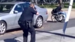 EEUU: policías asesinan a balazos a joven afroamericano en silla de ruedas