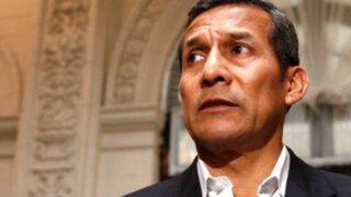 Especialistas afirman que Ollanta Humala podría ser incluido en investigación por lavado de activos