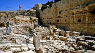 Niño ruso de 10 años realiza impresionante hallazgo arqueológico en Jerusalén