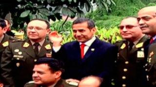 Ollanta Humala: ascienden a cuatro generales de su promoción en el Ejército