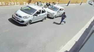 Arequipa: Policía captura a sujetos que asaltaron a jueza en falso taxi