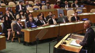 Líderes mundiales se pronuncian en la ONU sobre refugiados