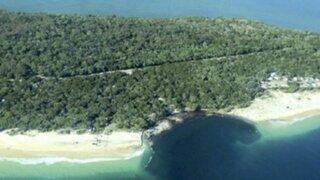 Misterioso agujero se 'tragó' una playa en Australia