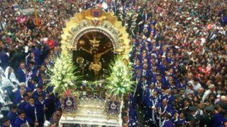 Señor de los Milagros: se realizará primera procesión este sábado