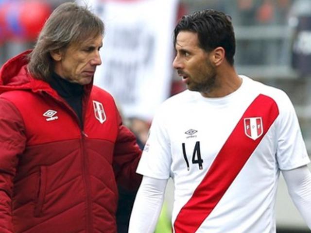 Esto fue lo que dijo Ricardo Gareca sobre la situación de Claudio Pizarro