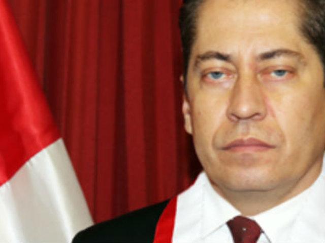 TC: Eloy Espinosa podría ser vacado de su cargo tras denuncia de secretaria