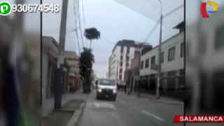 Movilidad escolar circula contra el tráfico en Salamanca