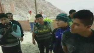 Caen traficantes de terrenos que estaban fuertemente armados en Cieneguilla