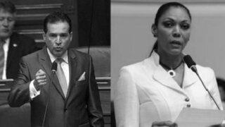 Congresistas Omar Chehade y Cenaida Uribe son separados de Gana Perú