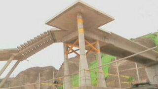 Costa Verde: Puentes peatonales se encuentran inconclusas y abandonadas
