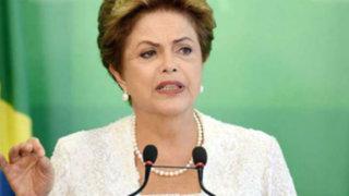 Brasil: Dilma Rouseff enfrentaría juicio político