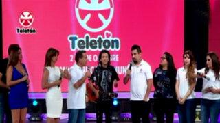 Teletón 2015: artistas y deportistas unidos por noble cruzada