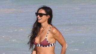 FOTOS: Demi Moore se luce en sensual bikini a los 52 años de edad