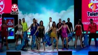 Periodistas sorprenden con espectacular coreografía en la Teletón