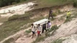Loreto: niño muere al detonar explosivo que halló en la calle