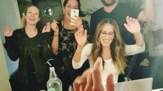 """Sarah Jessica Parker: """"Muchas gracias por su deliciosa comida y hospitalidad"""""""