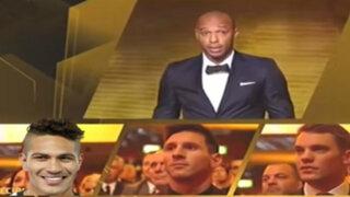 YouTube: Paolo Guerrero recibió el Balón de Oro en divertida parodia