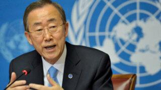 Ban Ki-moon llegará a Lima para cumbre del FMI y Banco Mundial