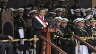 Humala encabeza celebración de aniversario de la Marina de Guerra del Perú