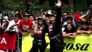 Alejandra Baigorria y Mario Hart presentes en partida simbólica de Caminos del Inca