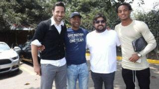 Waldir Sáenz aconsejó a Pizarro, Farfán y Carrillo previo al partido con Chile