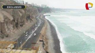 Municipalidad de Lima anuncia construcción de malecón en Costa Verde