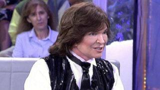Camilo Sesto reaparece en televisión con un rostro irreconocible