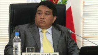 Ética recomienda suspender por 30 días a congresista José Luna Gálvez