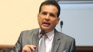 """Omar Chehade: """"Pareja presidencial planearía fugar del país"""""""