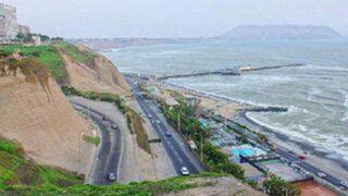 Miraflores: inician construcción de veredas y ciclovías en la Costa Verde