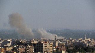 Siria: atacan embajada rusa en Damasco