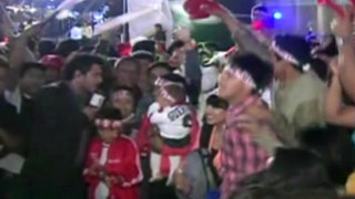 Bloque Deportivo: hinchas viven la fiesta del Perú - Chile en la capital