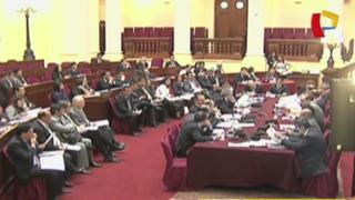 Comisión de Constitución: retoman debate sobre financiamiento de partidos