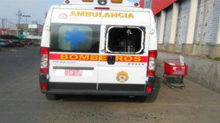 La Molina: roban equipos de ambulancia de Bomberos
