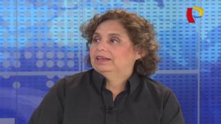 Susel Paredes reitera posibilidad de postular al Congreso