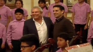 Juan Diego Flórez firma acuerdo con municipio de Lima para apoyar a Sinfonía por el Perú