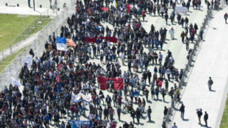 Nueva jornada de violencia durante marcha estudiantil en Chile