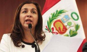 Marisol Espinoza presentó renuncia irrevocable al Partido Nacionalista