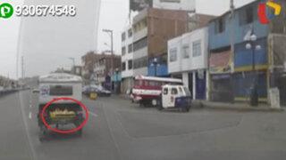 WhatsApp: trasladan pollos de forma insalubre en Chorrillos