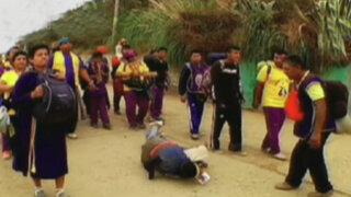 El fervor extremo: El duro camino hacia El Señor Cautivo de Ayabaca